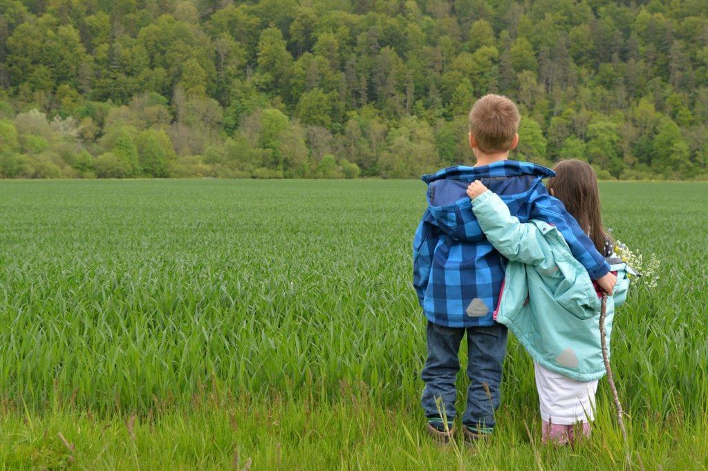 children, love, friends